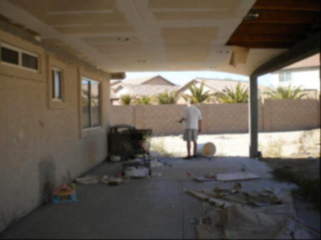 Large Patio Remodel - Before